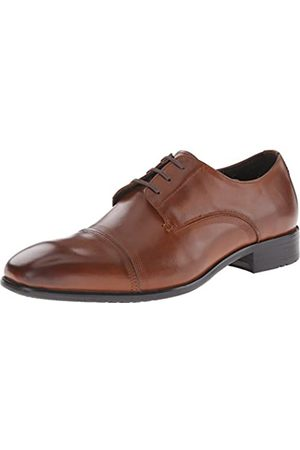 Kenneth Cole New York Up The Wall Oxford Herren, (Cognac)