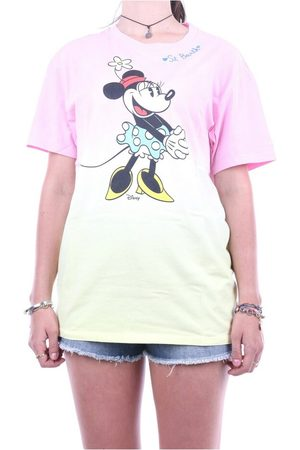 MC2 SAINT BARTH Emi0001-Mntd92 Short sleeve t-shirt Pink, Damen, Größe: M