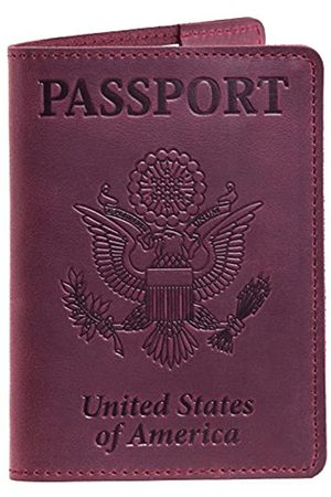 Gmakin Reisepasshülle aus Leder