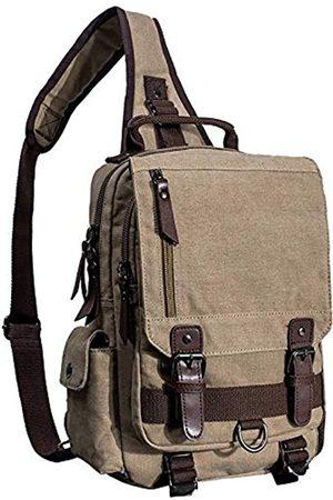 El-fmly Messenger Sling Bag Crossbody Schulterrucksack Outdoor Reisen Sport Laptop für Herren
