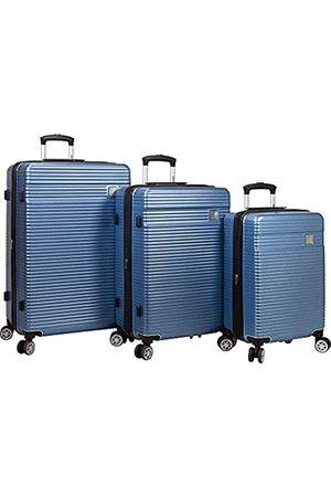 Dejuno Ashford 3-teiliges Hardside Spinner TSA-Zahlenschloss Gepäck-Set – (Blau) - 25DJ-8275-TEAL Blue
