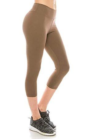 Always Capri-Leggings für Damen, hohe Taille, hochwertig, butterweich, Stretch, solide Basic