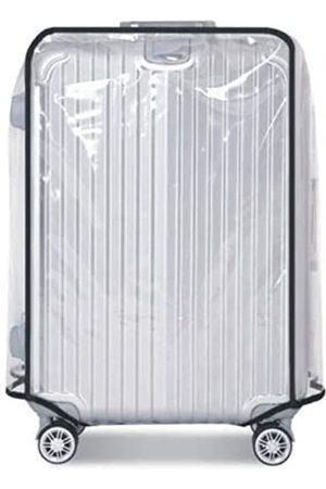 Kinglighten 66 / 71 / 76,2 cm Gepäckabdeckung, PVC, transparent, Kunststoff, Koffer-Abdeckung