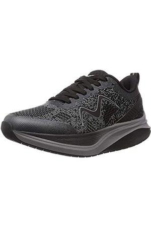 Mbt Damen Huracan-3000 Lace Up W Black Castlerock Leichtathletik-Schuh
