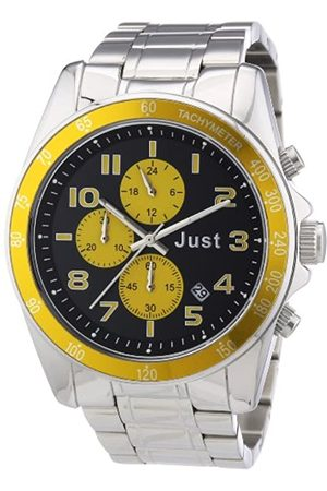 Just Watches Unisex-Armbanduhr Analog Quarz Edelstahl 48-S1230-YL