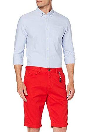 TOM TAILOR Herren Josh Bermuda Hose, 12880-brilliant red