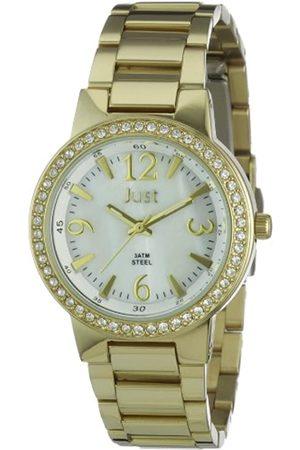 Just Watches Damen-Armbanduhr XS Analog Edelstahl 48-S0800A-GD-PL