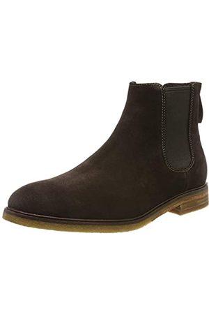 Clarks Herren ClarkdaleGoHot Chelsea Boots, (Dark Brown Suede Dark Brown Suede)