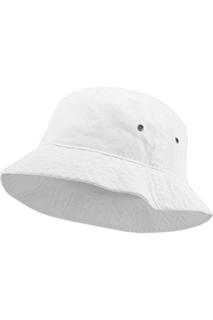 KBETHOS KBM-500 WHT S/M Reisegepäck Sommer Unisex Bucket Hat für Frauen und Männer