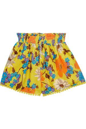 ZIMMERMANN Bedruckte Shorts Estelle aus Baumwolle