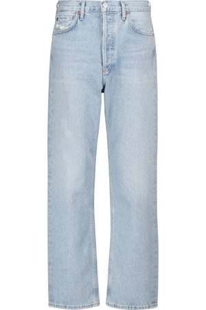 AGOLDE Mid-Rise Straight Jeans 90's
