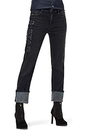G-Star Damen Noxer High Waist Straight Jeans