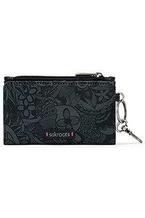 Sakroots Eco-Twill Encino Essential Geldbörse für Damen, (Black Spirit Wüste)