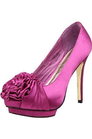 ZIGIny Damen Bloom Pump, Pink (Fuchsia Satin)