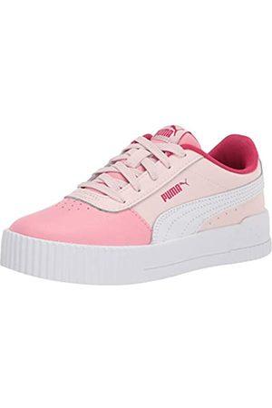 PUMA Carina Sneaker, Rosewater-Peony White