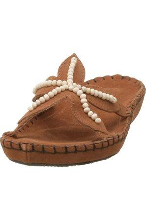 Deer Stags Damen-Sandalen mit Seestern, (Whiskey)