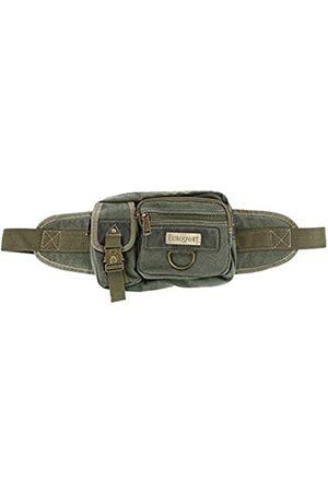 Eurosport Gürteltasche aus Segeltuch mit mehreren Taschen (Grün) - LH-B501-OLI