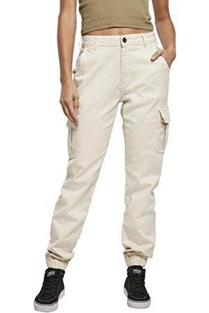 Urban classics Damen Ladies High Waist Cargo Pants Hose