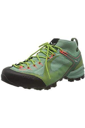 Salewa Damen WS Alpenviolet Gore-TEX Trekking- & Wanderstiefel, Feld Green/Fluo Coral