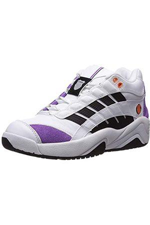 K-Swiss Damen SI-Defier Sneaker, (White/Black/Amethyst Orchid 118)