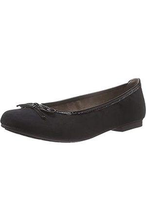 Soft Line Damen 22164 Geschlossene Ballerinas, (Black 001)