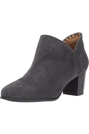 Jack Rogers Women's Marlow Ankle Bootie, Charcoal Suede