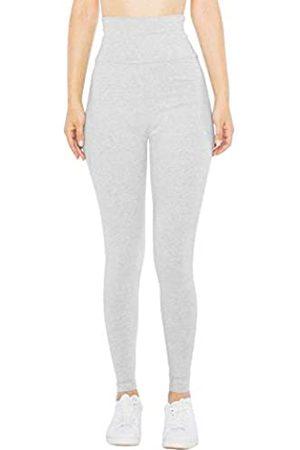 American Apparel Damen Cotton Spandex Jersey High-Waist Leggings
