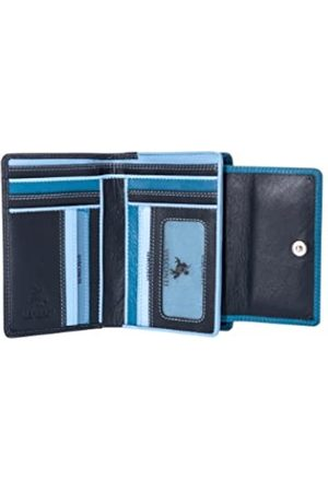 Visconti RB98 Mehrfarbige Geldbörse aus weichem Leder für Damen/Mädchen, Mehrere