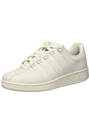 K-Swiss Damen VN HERI Sneaker, (White/Classic Blue/Ribbon Red 130)
