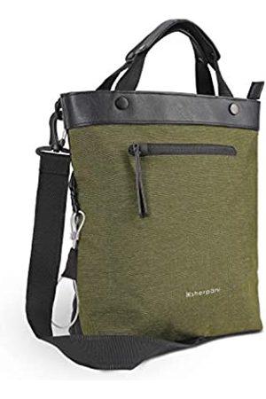 Sherpani Geo Anti-Diebstahl-Reisetasche für Frauen, mit RFID und Laptopfach für Tablets, Grn (Loden)
