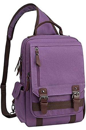 mygreen Canvas Crossbody Messenger Bag Schulterriemen Rucksack Reiserucksack