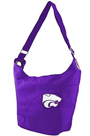 Littlearth NCAA Kansas State Wildcats Color Sheen Hobo Purse