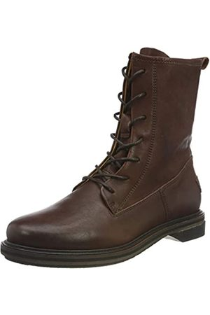Shabbies Amsterdam Damen SHS0276 Ankle Boot with LACE UP 2.5 cm Nappa Leather