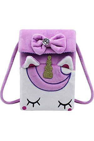 KINGSEVEN Niedliche Einhorn-Handy-Tasche für Damen und Mädchen - - Einheitsgröße