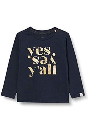Noppies Mädchen G Tee ls Masilo T-Shirt, Dark Sapphire-P208