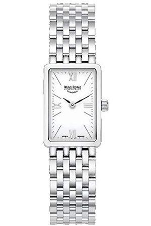 Soehnle Bruno Söhnle Damen Analog Quarz Uhr mit Edelstahl Armband 17-13195-972