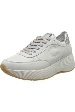 Crime london Damen BOTOX Sneaker, White