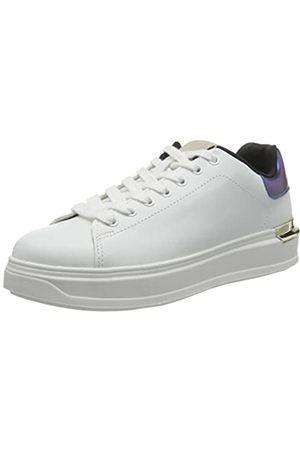 VERO MODA Damen VMMILANO Sneaker, Snow White/Detail:Snow White W. Navy Blazer