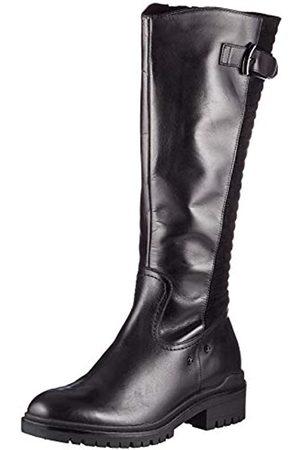 Caprice Damen 9-9-25600-25 054 Kniehohe Stiefel, Black/Suede