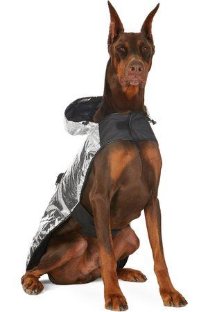 Moncler Genius Silver Poldo Dog Couture Edition Laminated Mondog Cloak Jacket