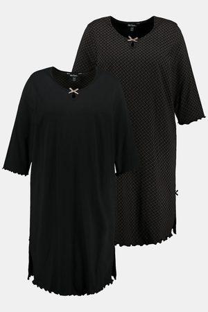 Ulla Popken Damen Schlafanzüge - Bigshirts, Damen