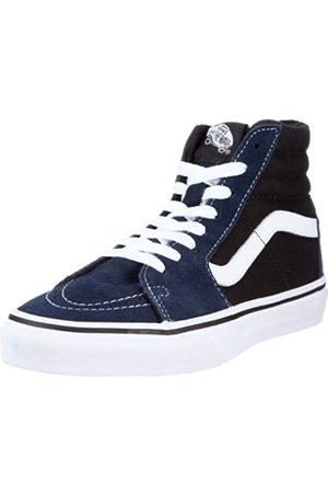 Vans Sk8-Hi VKYA5NQ, Unisex - Erwachsene Sneaker, (Suede Dress Blues/Black)
