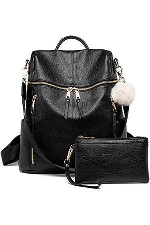 PINCNEL Rucksack Geldbörse für Frauen, große Designer Mode Leder mehrere Taschen Schultertasche für Wochenendreisen und täglichen Stil