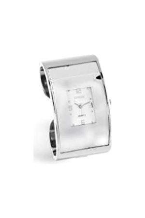 Sinobi Damen-Armbanduhr XS Analog Quarz Edelstahl beschichtet 983/BL