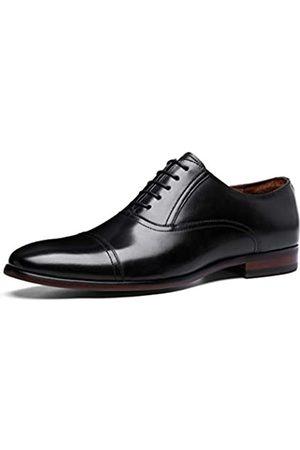 DESAI Leder-Oxford-Schuhe für Herren, Zehenkappe zum Schnüren