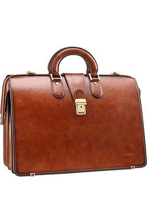 Ronts Banuce Vintage Leder Aktentasche für Herren Arzttasche Schloss Hard Attache Case Business Anwalttasche Anwalttasche