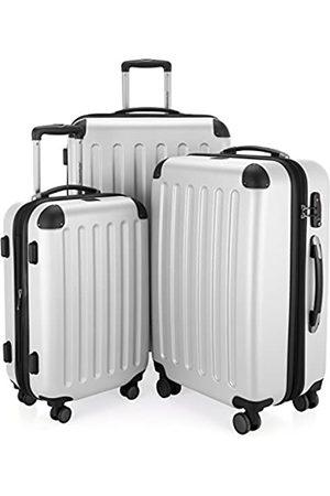 Hauptstadtkoffer Spree - 3er Koffer-Set Trolley-Set Rollkoffer Reisekoffer Erweiterbar, TSA, 4 Rollen, (S