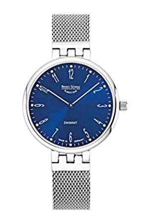 Soehnle Bruno Söhnle Damen Analog Quarz Uhr mit Edelstahl Armband 17-13157-380