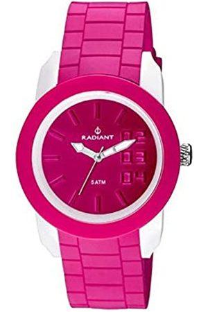 Radiant Damen Analog Quarz Uhr mit Gummi Armband RA248604