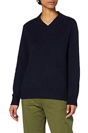 MERAKI Amazon-Marke: Damen Pullover Chunky Shawl V-neck, 44
